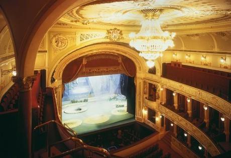 Interiér Velkého divadla J. K. Tyla v Plzni. FOTO archiv DJKT