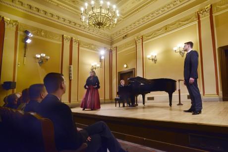 Helena Kaupová s Pavlem Černochem zpívají Dvořákovu Rusalku. Foto Pavel a Petr Horníkovi.
