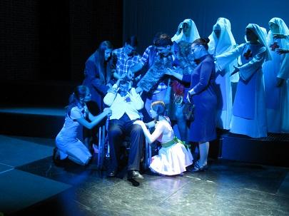 Tým Divadla Na Orlí zasluhuje velké uznání za odvahu i za kvalitní provedení opery. FOTO archiv JAMU
