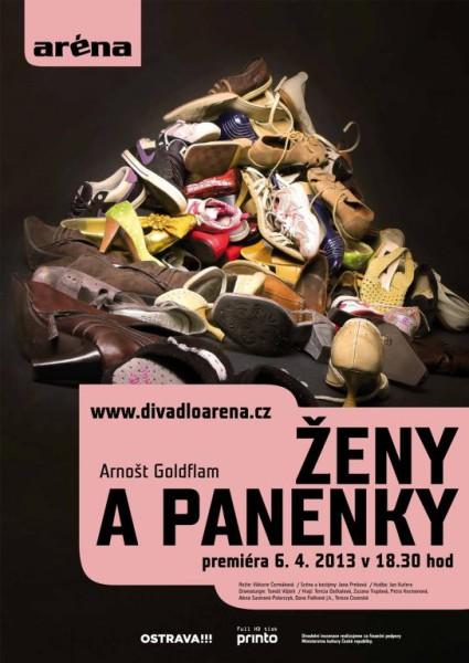 Ostravar-Zena a panenky_plakat1