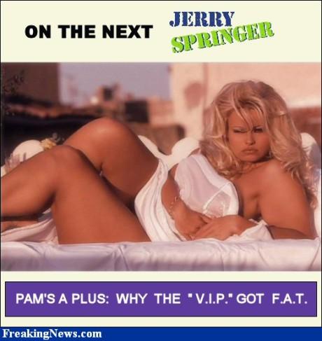 Jerry Springer Show. FOTO archiv