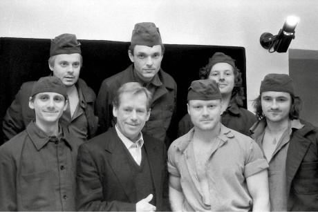 Jiří Štrébl: Václav Havel a jeho herci