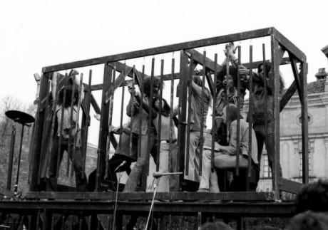 Living Theatre: Street Parade 1968/69. FOTO archiv Living Theatre