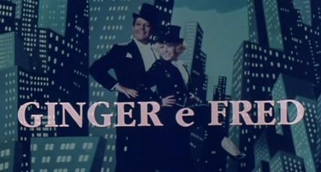 Federico Fellini: Ginger a Fred (Marcello Mastroianni a Giulietta Masina), 1986. Repro archiv