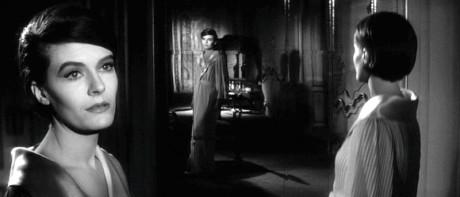 Delphine Seyrig v Resnaisově filmu Loni v Marienbadu (1961). FOTO archiv