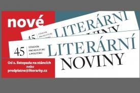 V roce 2009 přišly Literární noviny s novou podobou.