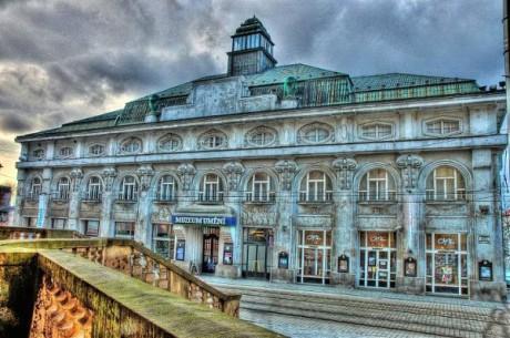 Muzeum umění Olomouc, jehož součástí je i Divadlo hudby. Repro archiv