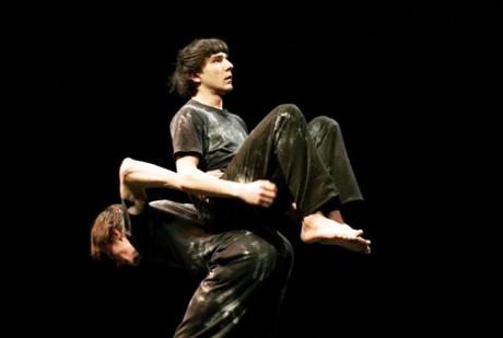 Tešlon a Frkl: Pohybová setkání třetího druhu. FOTO archiv DiFa JAMU