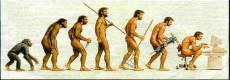 Vývoj člověka. Repro archiv