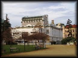 Městské divadlo mladá boleslav - pohled na zadní část. FOTO archiv