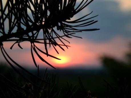 Západ Slunce. FOTO JANA MATZNEROVÁ