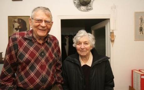 S Janem Skopečkem strávili 65 let. FOTO archiv