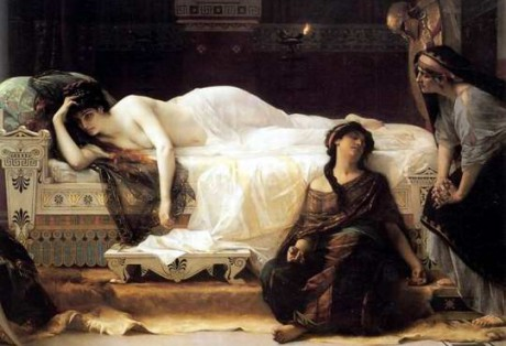 Alexandre Cabanel: Phèdre (1880). Repro Musee Fabre, Montpellier, Francie