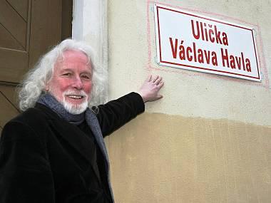 Brno má Uličku václava Havla. FOTO ATTILA RACEK