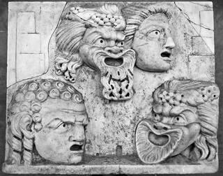 theatre_masks_stone_relief