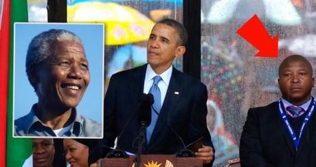 Jihoafrickou komunitu neslyšících rozčílil výkon tlumočníka do znakové řeči na pietním ceremoniálu za zesnulého Nelsona Mandelu. Tlumočník stál po většinu ceremonie na pódiu vedle řečníků, ale z jeho zmatených pohybů bylo jasné, že si znakovou řeč vymýšlí. FOTO archiv