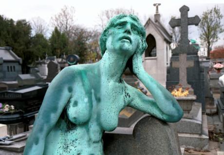 Pere Lachaise Cemetery - Paris. FOTO archiv