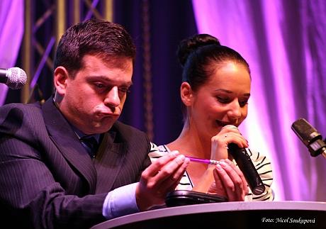 Barování: Filip Rajmont a Sandra Nováková. FOTO archiv