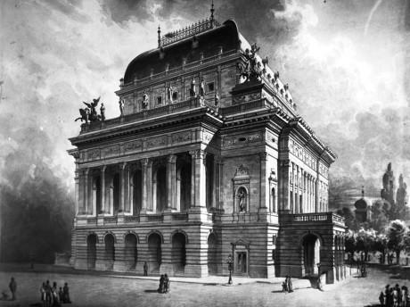Národní divadlo Praha. Repro archiv