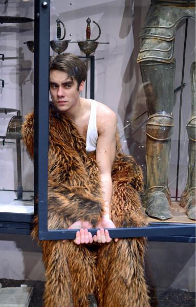 Patrik Děrgel jako Hamlet