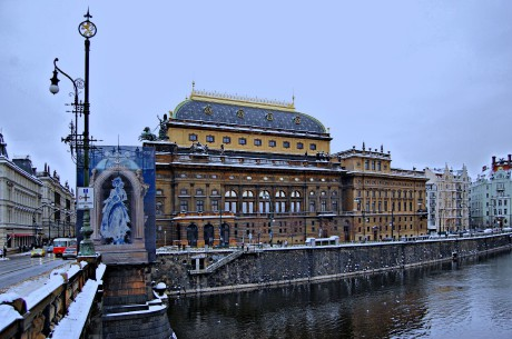 Národní divadlo Praha dnes. FOTO archiv