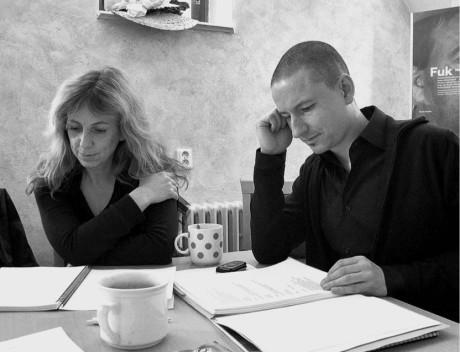 Olga Šubrtová a Martin Glaser