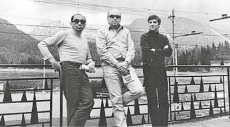 Milan Schulz, Karel Mareš a Jiří Suchý