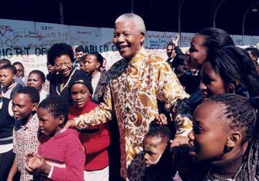 Nelson Mandela. FOTO archiv UNICEF