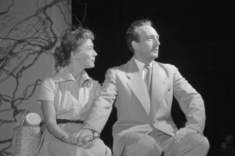 S Violou Zinkovou v inscneaci DnV Proč žiješ, Václave Řího (1958). FOTO archiv DnV