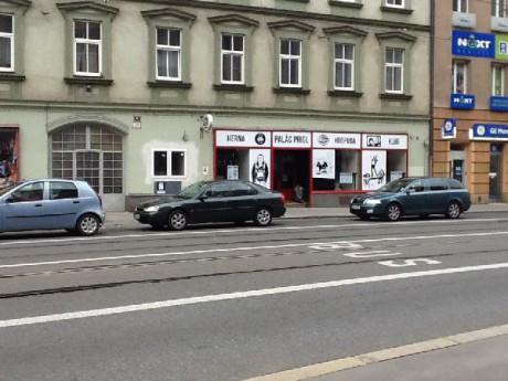 Palác Prigl. Diskotéka / Diskoklub, Hospoda, Herna. Adresa: Křížová 20, Brno. FOTO archiv