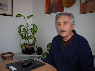 Ředitel Slováckého divadla Uherské Hradiště Igor Stránský. FOTO PETRA KUČEROVÁ