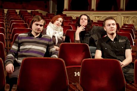 Adam Gold, Gabriela Krečmerová, Zuzana Patráková, Otto Kauppinen. FOTO archiv Setkání/Encounter Brno