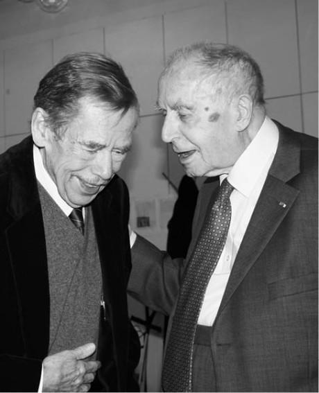 Karel Kraus s Václavem Havlem