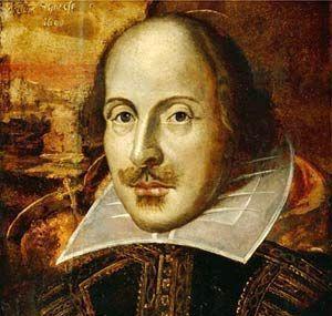 Portrét Williama Shakespeara od neznámého autora z roku 1815. Repro archiv ČRo