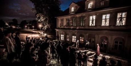 Vila na pražské Štvanici ožila Meyrinkovým Golemem. FOTO archiv