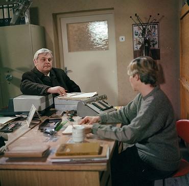 Z TV inscenace Území strachu (1986). FOTO archiv