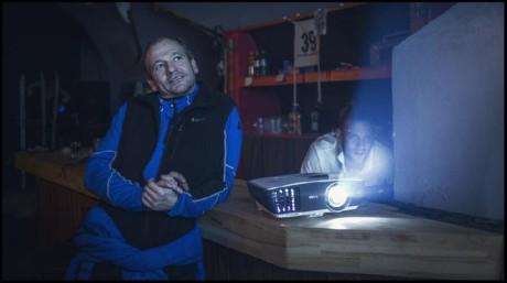 Až do příchodu Jana Hilského (Marek Taclík) na scénu a ještě nějakou dobu potom se neslo představení v klasickém rubínovském střihu – gag střídá gag FOTO ARCHIV A STUDIA RUBÍN