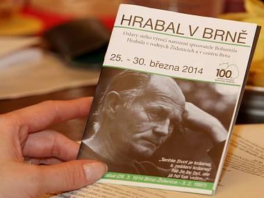 Hrabal v Brně... FOTO archiv
