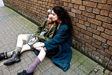 Zdá se, že jde o skotské bezdomovkyně. FOTO archiv divadla.