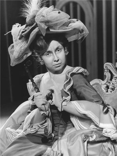 Marcelina ve Figarově svatbě (ND, 1971). FOTO archiv ND