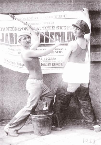 Tanečnice Jarmily Kröschlové