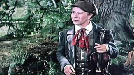 Ladislav Pešek jako Kalafuna ve filmu Strakonický dudák (r. Karel Steklý, 1955). FOTO archiv