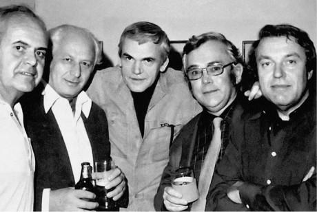 Liehm, Lustig, Kundera, Škvorecký