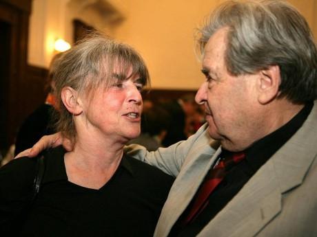 S režisérkou Evou Tálskou. FOTO archiv