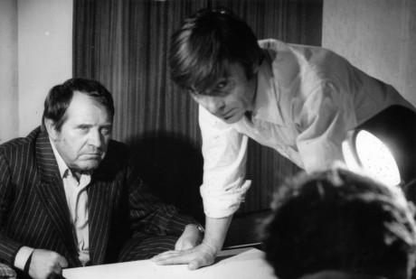 S Ladislavem Mrkvičkou ve filmu Kdo přichází před půlnocí (1978). FOTO archiv