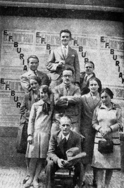 Voice-band E. F. Buriana na festivalu v Sieně (1928). FOTO archiv