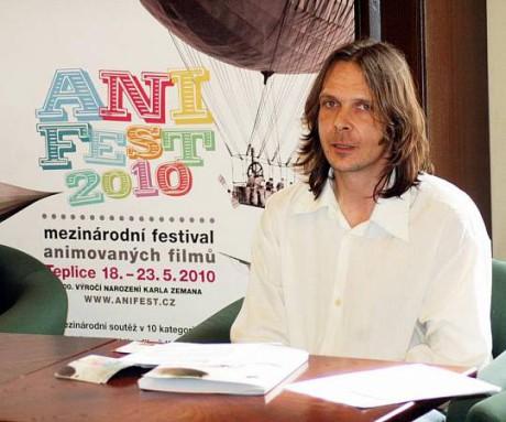 Jakub Hora v době spolupráce s Anifestem. FOTO archiv