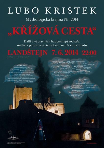 Kristek-2014_landstejn-krizova_cesta-plakat_c