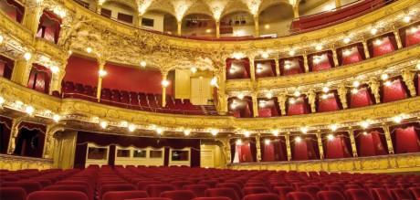 Hlediště Státní opery. FOTO ND Praha