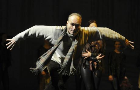 22. února 2012 při generálce baletu Láska a vášeň. FOTO archiv